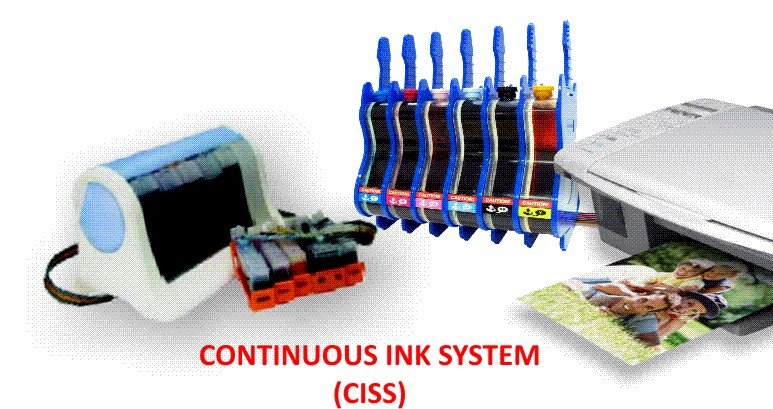 Continuous Ink Supply Systems (CISS) for All Epson Printers