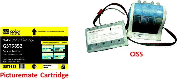 Picturemate Cartridge & CISS For Epson Printers